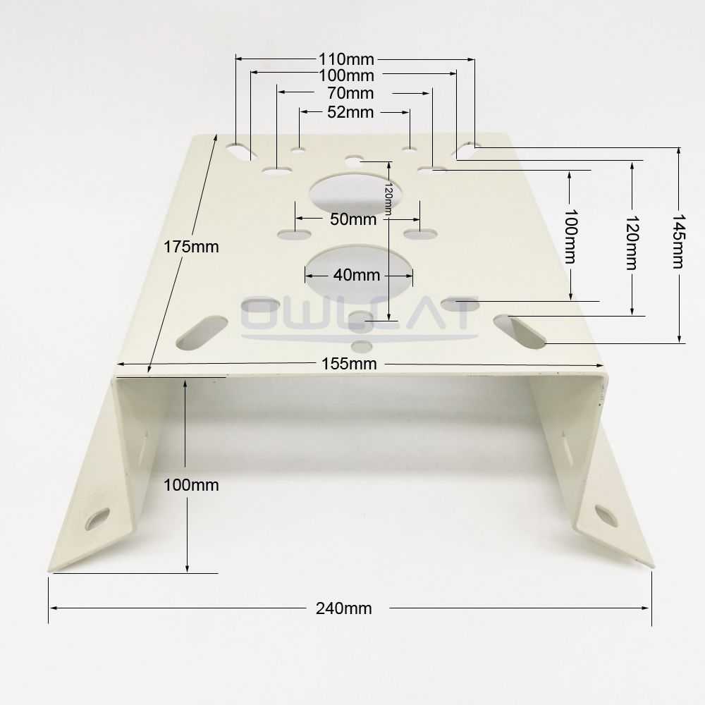 где купить New Metal Outdoor/Indoor External Corner Bracket Mounting For Heavy Camera OR CCTV PTZ IP Dome Camera Max Load-bearing 25KG по лучшей цене