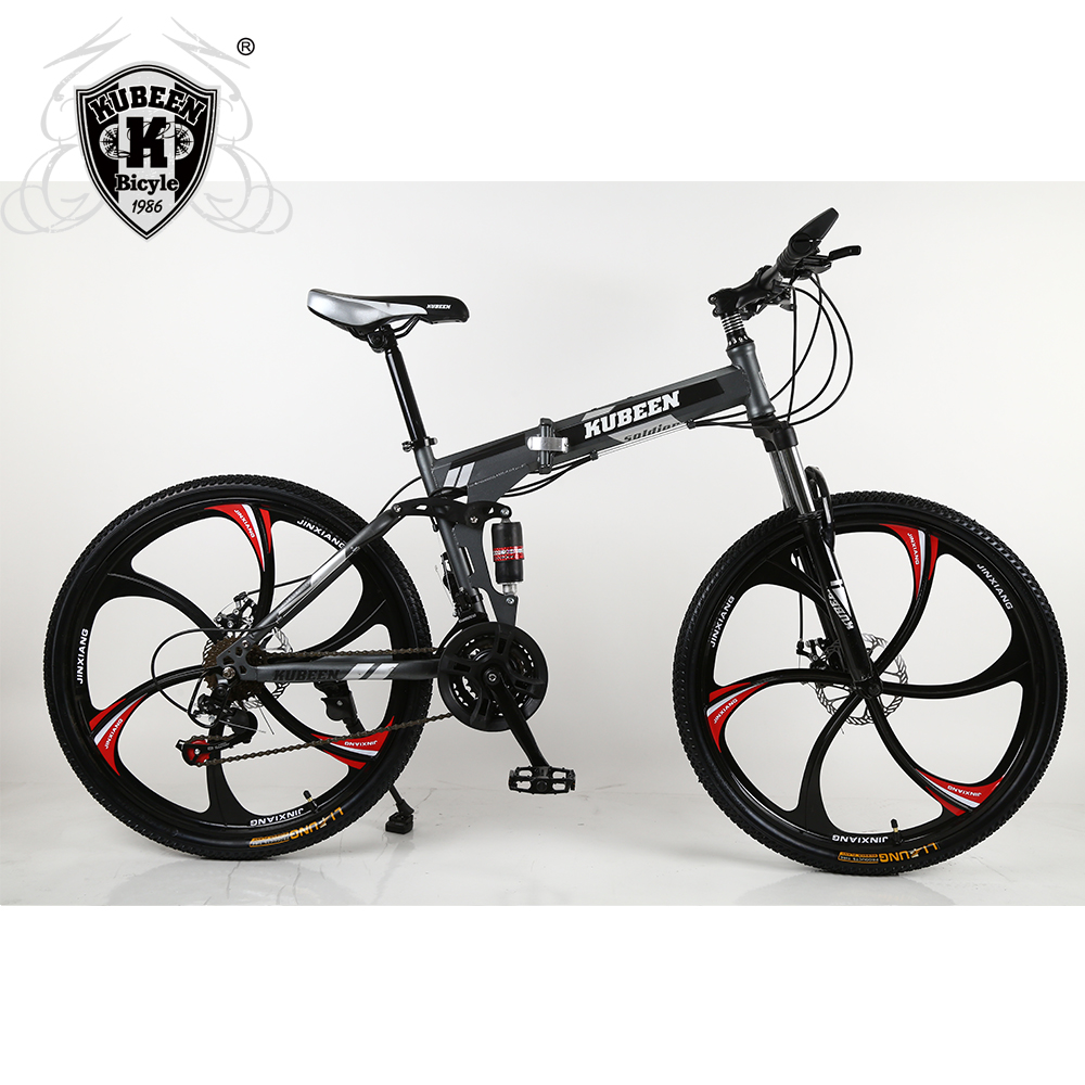 KUBEEN mountain bike 26-inch steel 21-speed bicycles dual disc brakes variable speed road bikes racing bicycle BMX Bike kubeen downhill mountain bike steel 26 inch 21 speed bici corsa bikes mens bisiklet folding bicycle bicicleta bisiklet