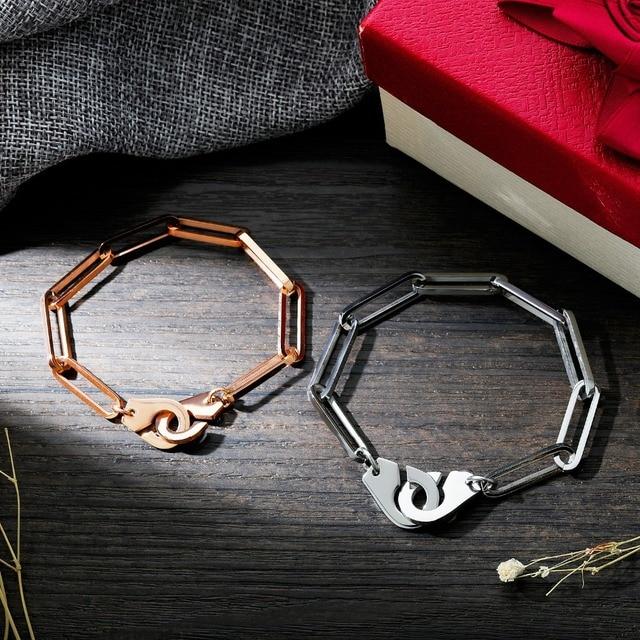 Купить модные креативные очаровательные браслеты манжеты для влюбленных