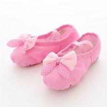 Chaussures de Danse en toile souple pour filles, chaussons de Danse de bonne qualité