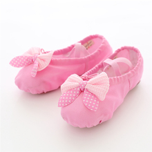 Girls Dance Shoes Soft Canvas Ballet Danse for Kids Children High Quality Slipper Ballerina