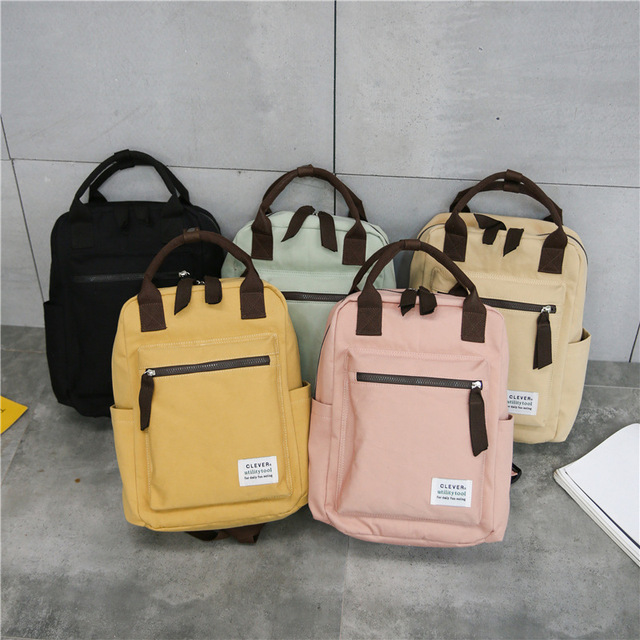 Korean Style School Travel Backpack For Women 5