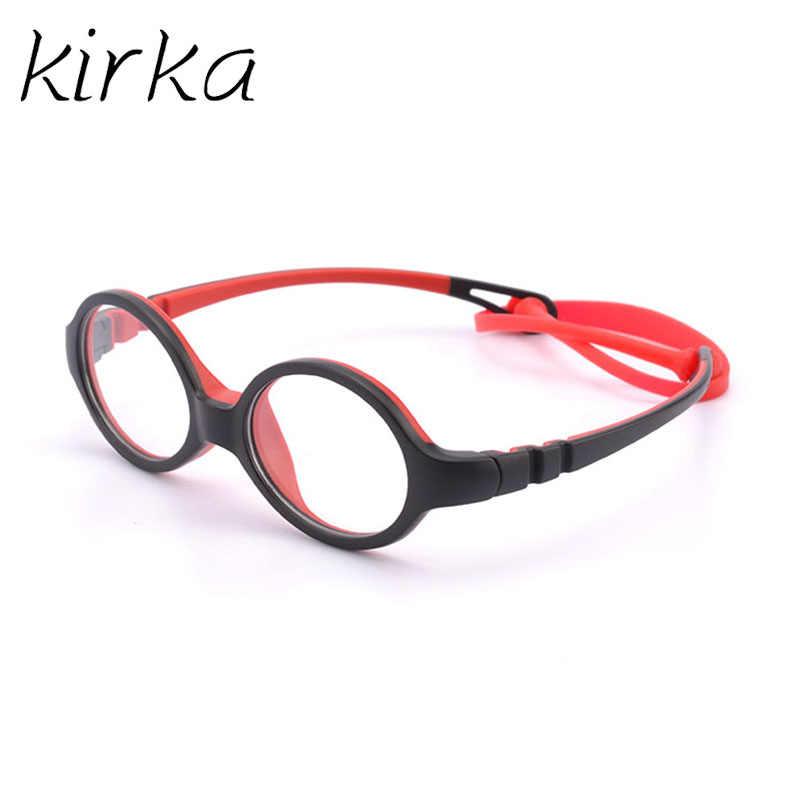 cb98c20ff75d ... Kirka 2019 Kids Glasses Child Cute Glasses Frame Spectacle Frames For Children  Prescription Myopia Small Children ...