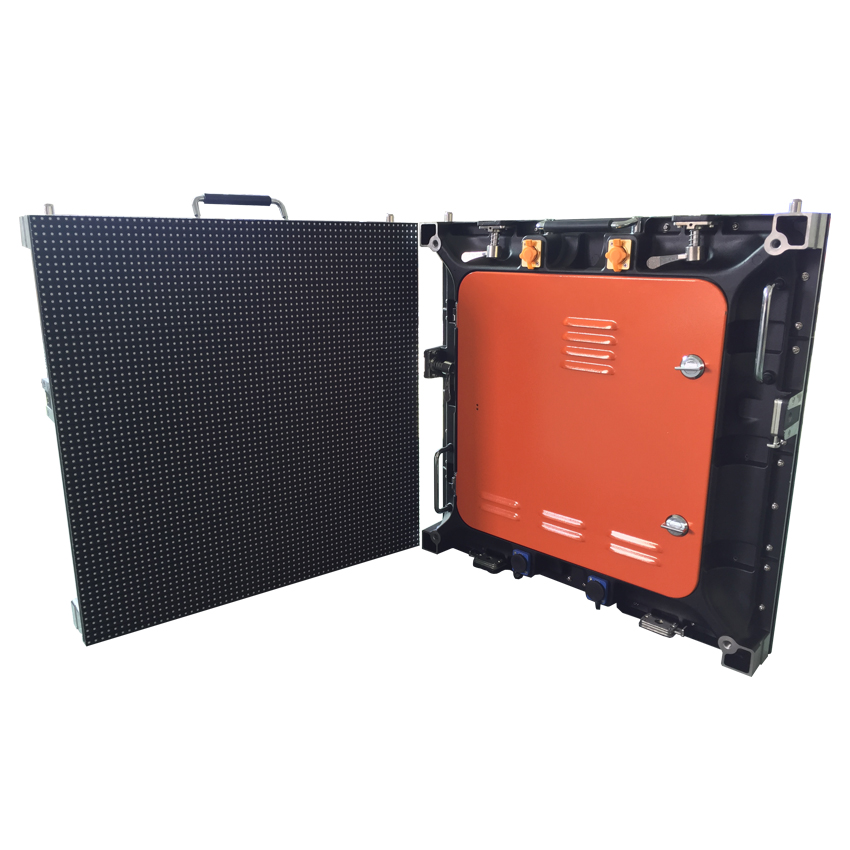 512*512MM P8 SMD Outdoor Die Casting Aluminum Cabinet Video Wall Panel Full Color LED Display Screen For Stage