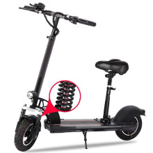 Folding Bicycle Electric Scooter 500W Motor 10 inch two wheel E-Scooter Shock Absorption Foldable Electric Skateboard for Adults