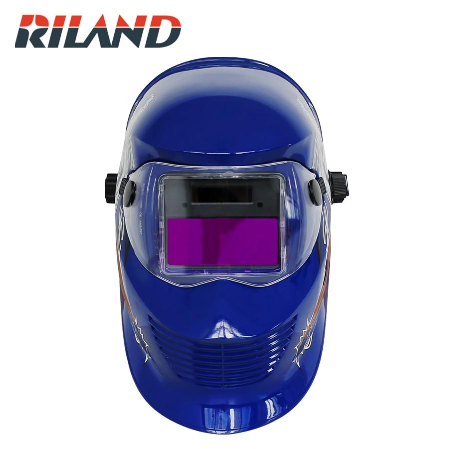 RILAND  X902T Auto Welder Mask Auto darkening welding cap  Hercules for MIG MMA ARC Welding machines