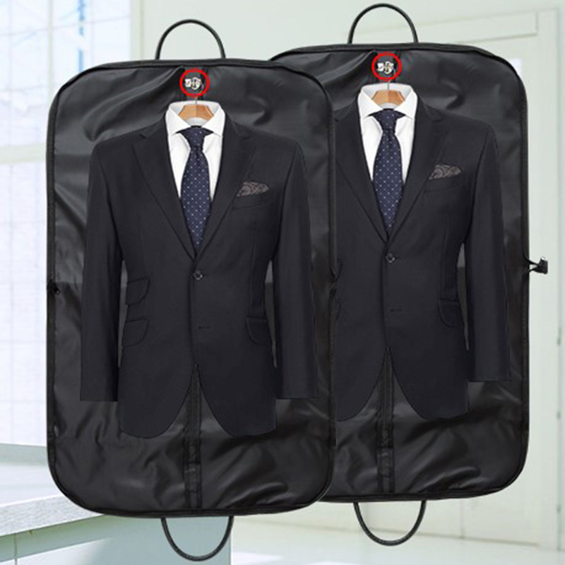 High Quality Waterproof Oxford Suit Bag Portable Travel Accessories Women Men Suit Bags Clothes Cover Hanger Garment Storage Bag
