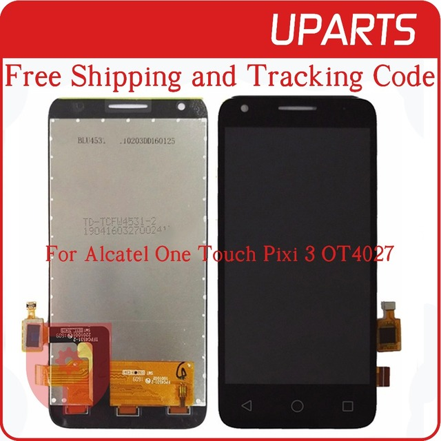 High Quality For Alcatel One Touch Pixi 3 4.5 OT4027 OT 4027 4027X LCD Display Touch Screen Glass Digitizer Assembly Replacement