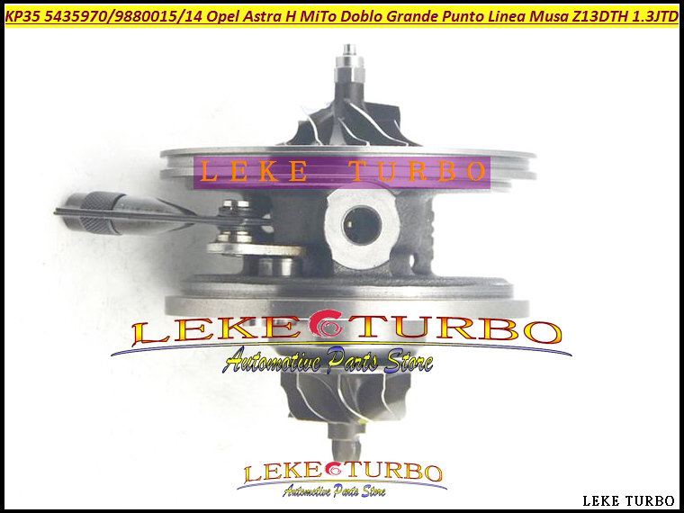 Turbo Cartridge CHRA KP35 54359880014 54359880015 For Fiat Doblo Grande punto Linea For Opel Astra H Corsa Z13DTH Multijet 1.3L 1pc used e 05n koyo