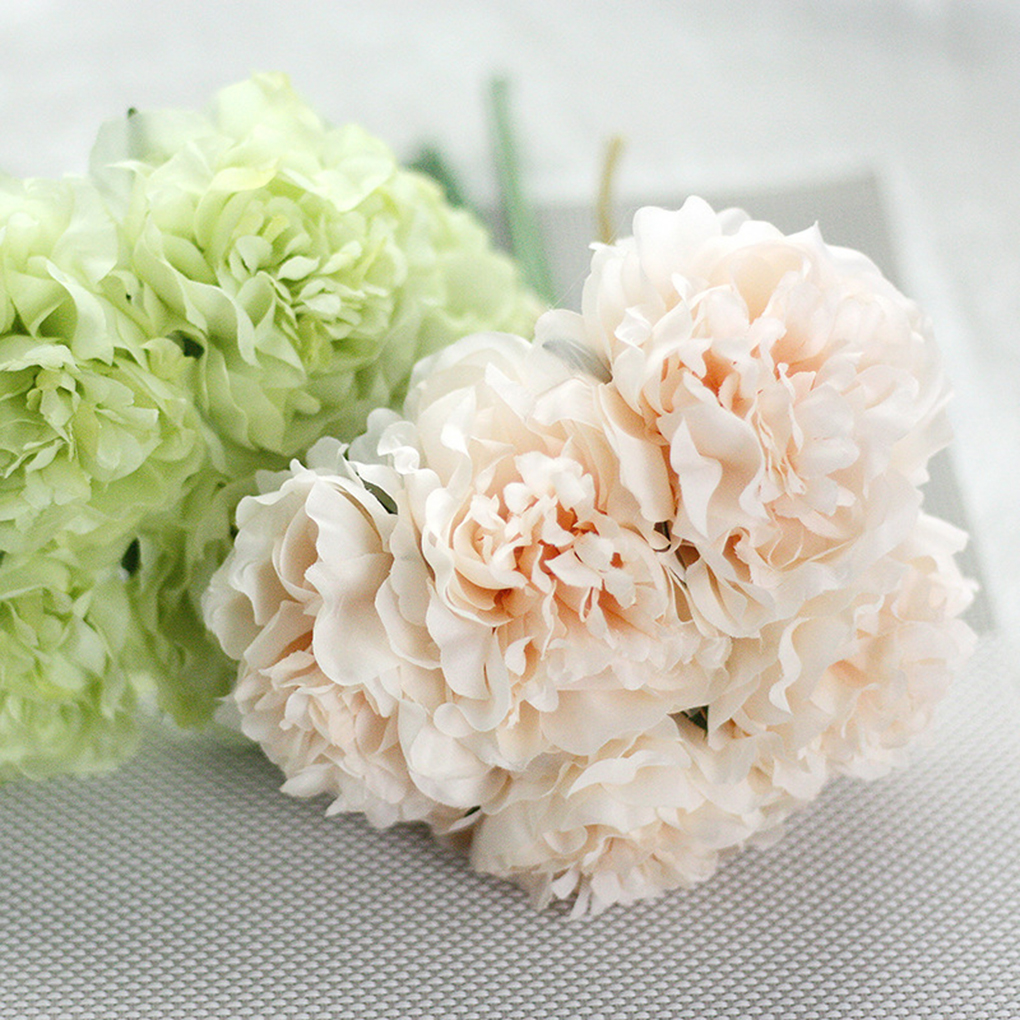 Aliexpress buy artificial flower peony bunch silk artificial aliexpress buy artificial flower peony bunch silk artificial flowers bouquet real like diy wedding living room decorative from reliable artificial dhlflorist Images
