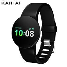 KAIHAI H25 Фитнес трекер smart watch браслет водонепроницаемый ip68 наручный Секундомер Монитор сердечного ритма браслет сна PK mi Группа 3