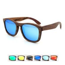 New Wholesale Wooden Sunglasses Multi-layer Laminate Handmade Wooden Glasses High Grade Uv400 Retro Polarizer