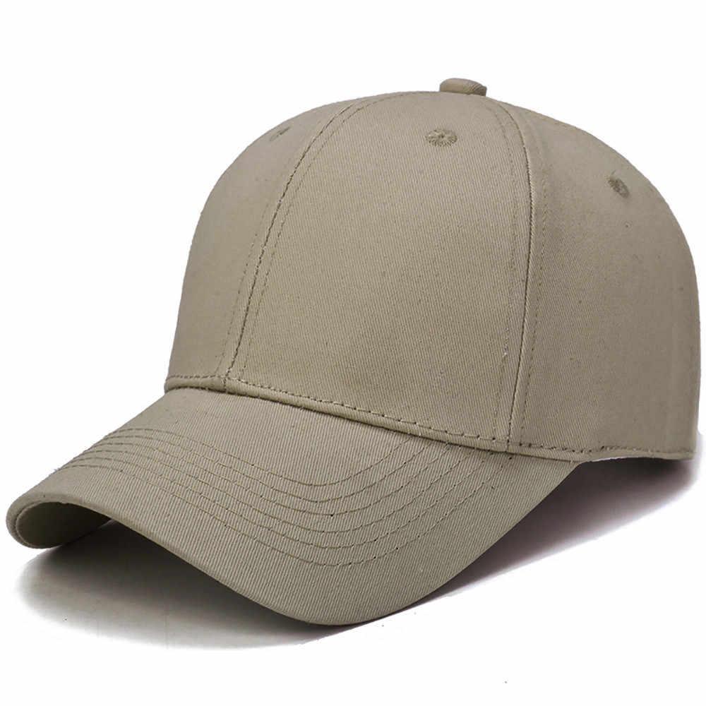 Nữ nắp nam chắc chắn Unisex Đen nữ nam bóng chày nam nữ nắp Bộ mũ lưỡi trai đen trơn nữ