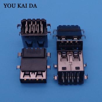100x laptop PCB USB port for Asus A45 A85 K45 K75 A45V A85VD K45V K75D K75V A45 A85 K45 K75 USB3.0 connector фото