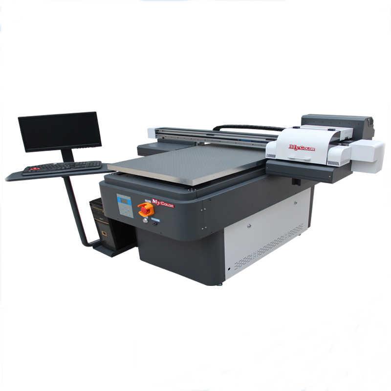 2019 new design uv led flatbed printer uv 6090price for t-shirt/notebook cover