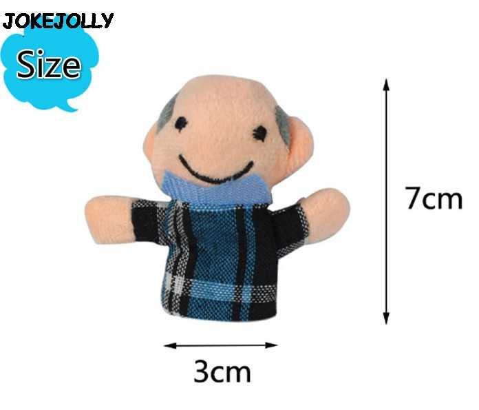 Bayi Mainan Boneka Jari Memberitahu Cerita Alat Peraga 10 Pcs Hewan atau 6 Pcs Keluarga Boneka Mainan Anak Anak Hadiah gyh