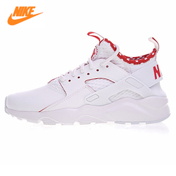 Nike Air Huarache Ultra Id Women's Original Running Shoes,Women's Breathable High Quality Shoes ,Leather All White 875841 116