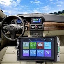 Zeepin 7 pulgadas 2 Din Reproductor de Radio FM Bluetooth USB coche MP5 Apoyo Al Jugador de Streering rueda Cámara de Visión Posterior Auto de Radio Audio