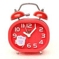 Dekoracji Sztuki kwarcowe zegarki Autentyczne poczty, kreatywna moda, kolor wyciszenie, leniwy światła, mały budzik, piękne studentów, chil