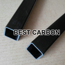 20mm x 17mm x 1000mm Pultruded Square Carbon Fiber Tube