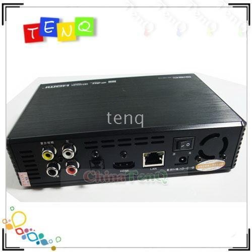 support online video 5pcs GIEC GK-HD110 1080P Full HD HDD Media Player