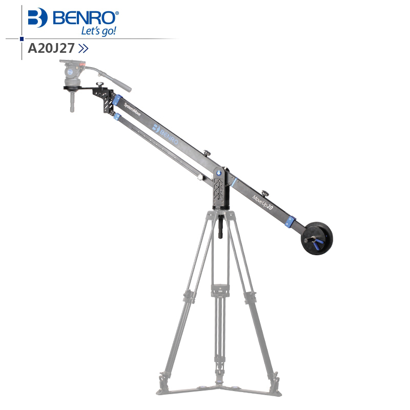 Benro A20J27 MoveUp20 Travel Video Jib Professional Auminium Commercial Jib For Video Max Loading 20kg DHL Free Shipping