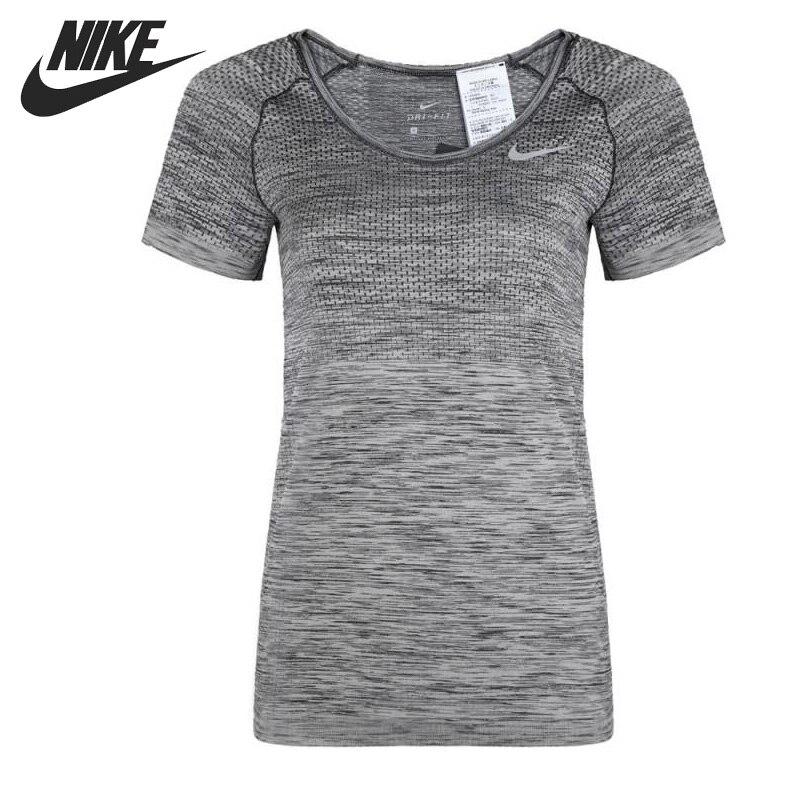Sport & Unterhaltung Rollschuhe, Skateboards Und Roller Methodisch Original Neue Ankunft Nike Dri-fit Stricken Frauen T-shirts Kurzarm Sportswear