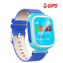 Niño gps smart watch dispositivo de localización de llamadas sos tracker q80 Smartwatch para Kid Safe Anti Perdido Monitor de Bebé Portátil de Regalo dispositivos
