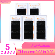 5trays  false eyelashes,eyelash extension natural mink lashes , individual eyelashes eye makeup eyelash