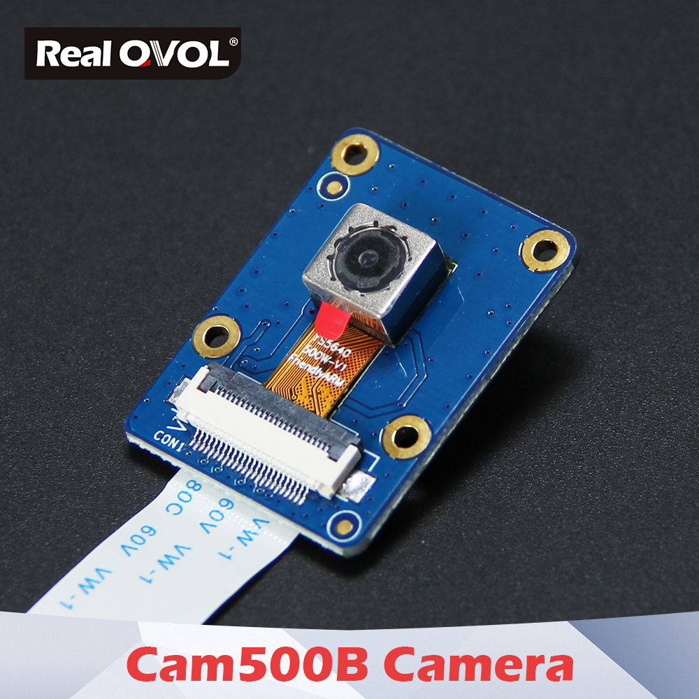 cam500b - RealQvol CAM500B High Definition Camera , 5M Pixel 2592x1944 image sizes,support AFC AWB AEC etc,720P video recording,24pin FPC