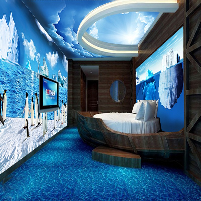 Online get cheap large custom aquariums for 3d aquarium wallpaper for bedroom