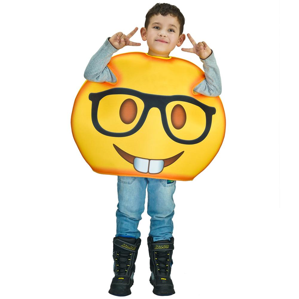 Kids Anthomaniac/&Heart Emoji Costumes Unisex Funny Obsession Emoticon Jumpsuit