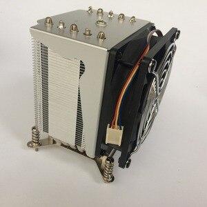 Image 3 - R5 50 CPU cooler 9cm fan 5 heatpipe Fans Heatsink Radiator for intel LGA1155/1156