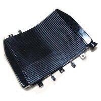 Ниндзя ZX 6R 636 радиатора охлаждения Cooler комплект для KAWASAKI Ninja ZX6R ZX 6R ниндзя ZX 6R 636 2005 2006 радиатор