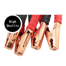 Car Jumper Battery Cables 2M 500AMP Booster Cable Emergency for Car VanTruck Terminals Jump Starter Leads Clip Car accessories