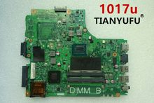 CN-0PTNPF PTNPF FOR DELL INSPIRON 3421 5421 laptop motherboard SR10A 1017U mainboard 12204-1 DNE40-CR PWB:5J8Y4 REV:A00(China)
