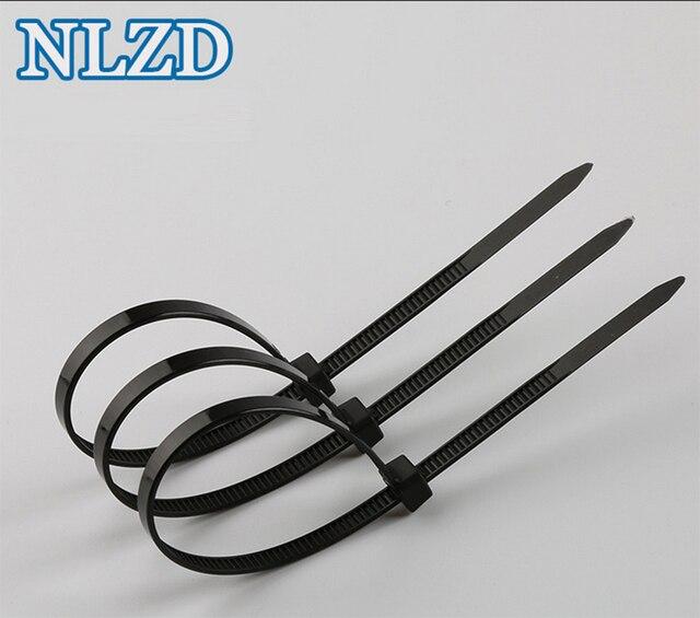 New Plastic wire Bundle Ties 3x200mm 500Pcs/pack Wire Zip Tie Width ...