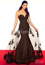 free shipping special occasion 2014 new fashion hot black vestidos de festa prom gown long mermaid party evening elegant dress
