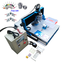 1.5KW 2.2KW 6090 CNC Router Engraving Machine Offline DSP Controller System CNC Milling Machine Linear Guide Rail TRH20