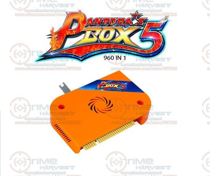 3 pcs Nouvelle Arrivée Pandora Box 5 version Améliorée 960 en 1 Multi jeu avec 4 noyaux CPU VGA HDMI 720 P Sortie Personnalisé Boutons Cadre