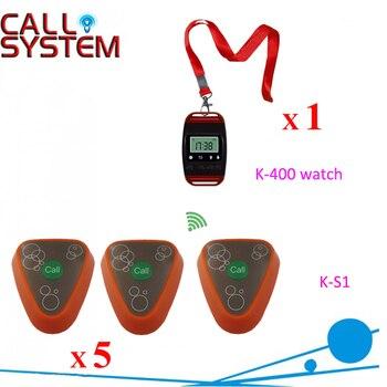 Ycall часы приемник с передатчиком беспроводной пейджер звонок системы
