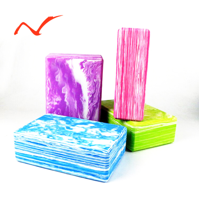 Yoga Blocks Foam Balance Aid 1 PC EVA Strength Flexibility Fitness Exercise Pilates Yoga Brick