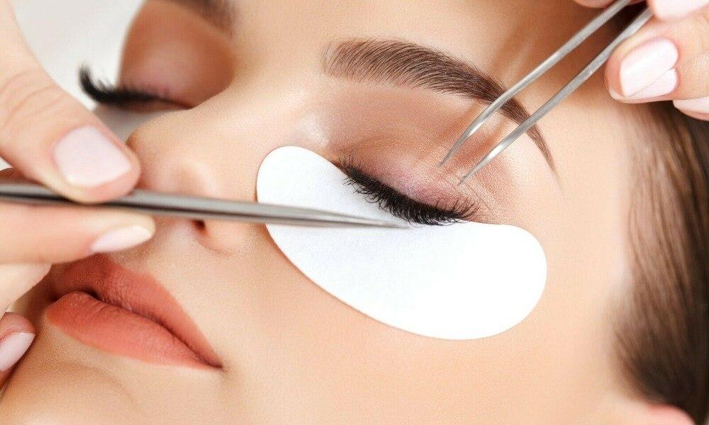 Gel Remover Pad Olho Extensão Dos Cílios Anti-alérgico