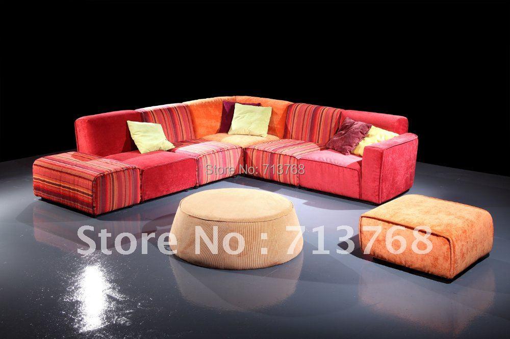 wohnzimmer couch billig:Moderne möbel/wohnzimmer stoff sofa bett/sofagarnitur/sofa MCNO9060