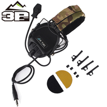 Outdoor Airsoft Military Aviation Noise Canceling TEA tactical headphones Releases New Hi-Threat Tier 1 Headset WZ110