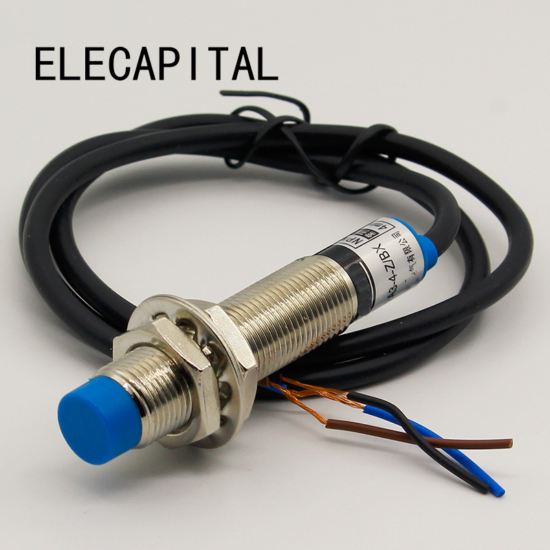 10pcs Nouveau LJ12A3-4-Z//BX Inductive Proximity Sensor Switch NPN NO DC6-36V 4 mm
