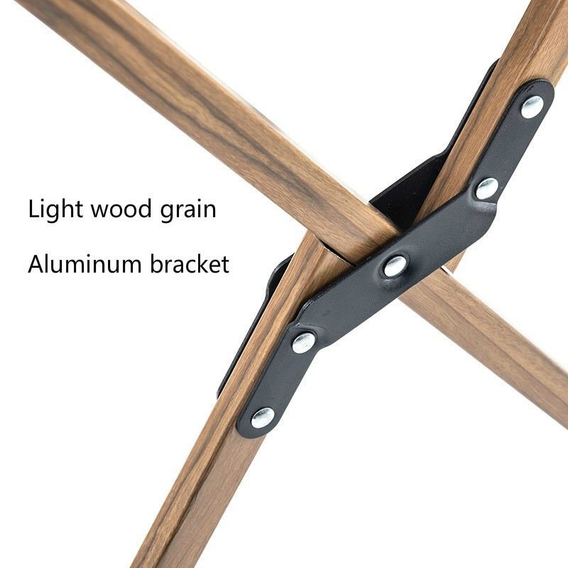 Image 4 - Naturehike Wood Timber Fishing Chair Can For Office Camping Light  Wood Grain Nap Chair Beach Chair Fishing Outdoor Folding ChairFishing  Chairs