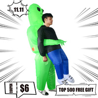 Inflatable Cosplay Ghosts Halloween Party Funny Explosion Ride On Clothes Swear Performance Costumes Ride On Animal Outdoor Toys
