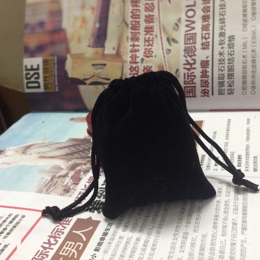 2000pcs SPECIAL SALE 7 9cm black velvet jewelry bags gift pouches bag drawstring bag for jewelry