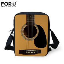 FORUDESIGNS Novelty 3D Camera Guitar Print Women Messenger Bags Luxury Designer Mini Cross-body Bag for Ladies Mochilas Infantil